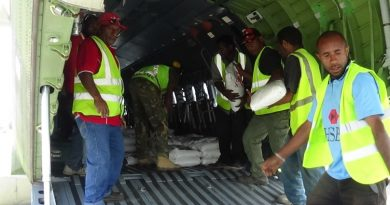 PNGDF Delivers Relief Supplies to Telefomin