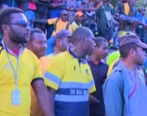 Pacific Games Security Personnel Demand Payment for Services