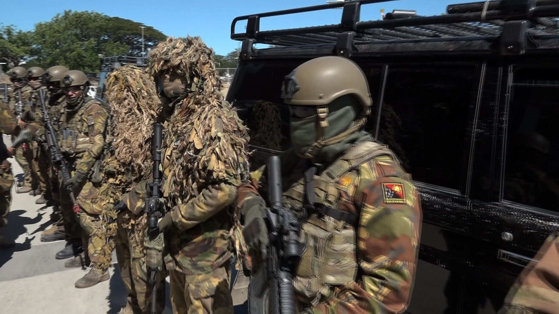 Png Defence Special Force Prepare For 2018 Apec Summit