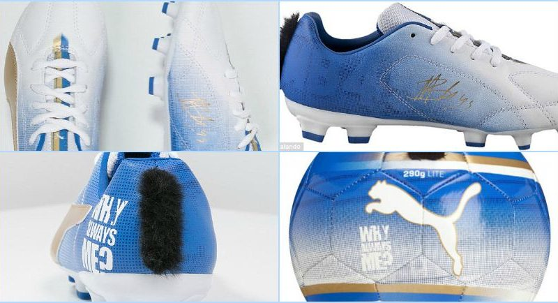 Mario's New ?Mohican-Style? Football Boots For Children