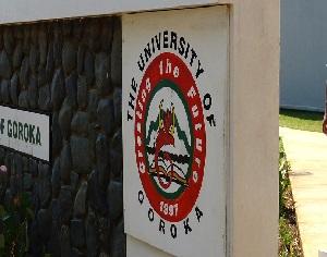 Polling for Classes at University of Goroka