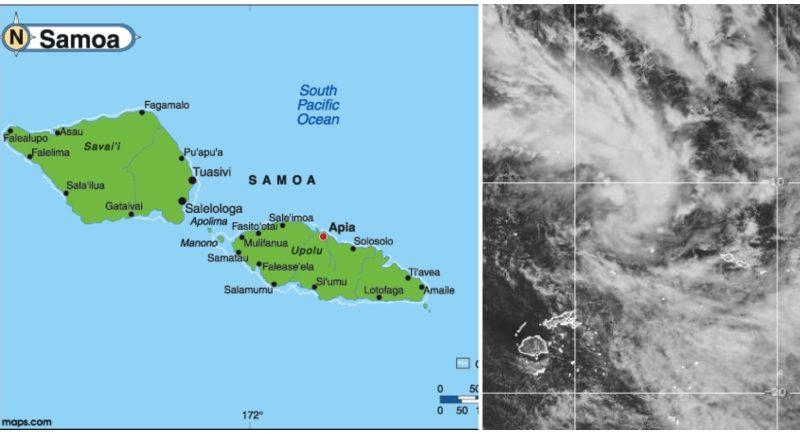 Samoa on High Alert for Tropical Cyclone