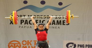 Toua (PNG) Upset With Snatch Display
