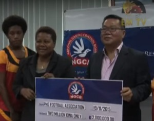 Women's U-20 Team Receive K2 million