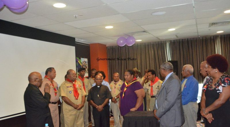 Scout Association of PNG Hosts its 2016 Annual General Meeting