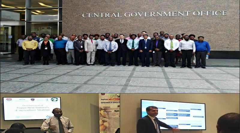 Papua New Guinea E-Agriculture Strategy Stakeholders Consultation