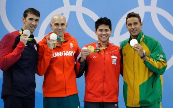 Michael Phelps Scores 23rd Gold Medal in Final Olympic Swim