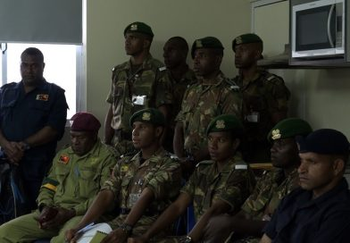 Joint Services College Cadets Visit Lae Metropolitan Command