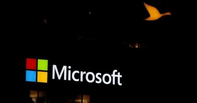 The logo of Microsoft company is seen in Paris, France, June 2, 2016. REUTERS/Jacky Naegelen