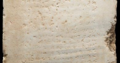 Centuries-old Ten Commandments tablet heads to auction in Texas