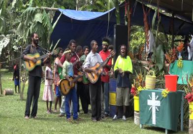 Lutheran Parish Celebrates 10 years service in Nawaeb District, Morobe