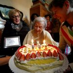 Thriving on raw eggs, world's oldest person marks 117th birthday in Italy