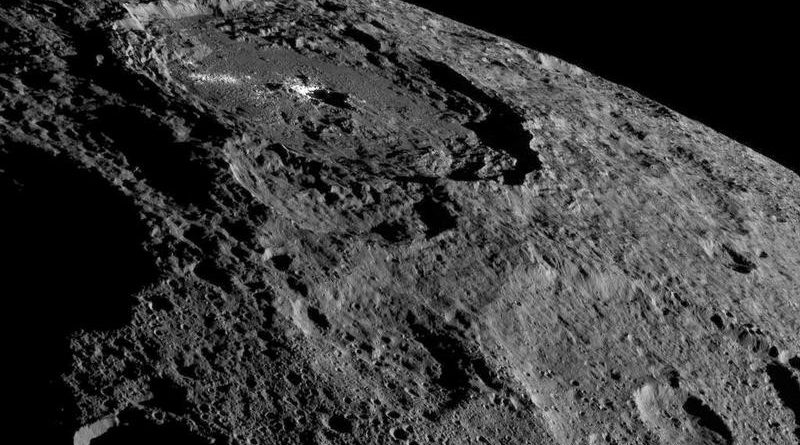 Dwarf planet Ceres boasts organic compounds, raising prospect of life