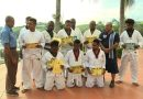 NCD Taekwondo fighters Receive Red Belts and Certificates