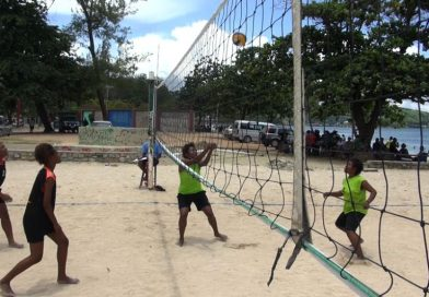 Beach Volleyball Trial matches for Oceania Championship starts