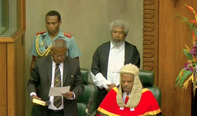 Bob Dadae sworn in as 10th Governor General of PNG