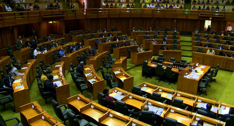 where will patrick pruaitch sit at upcoming parliament sitting