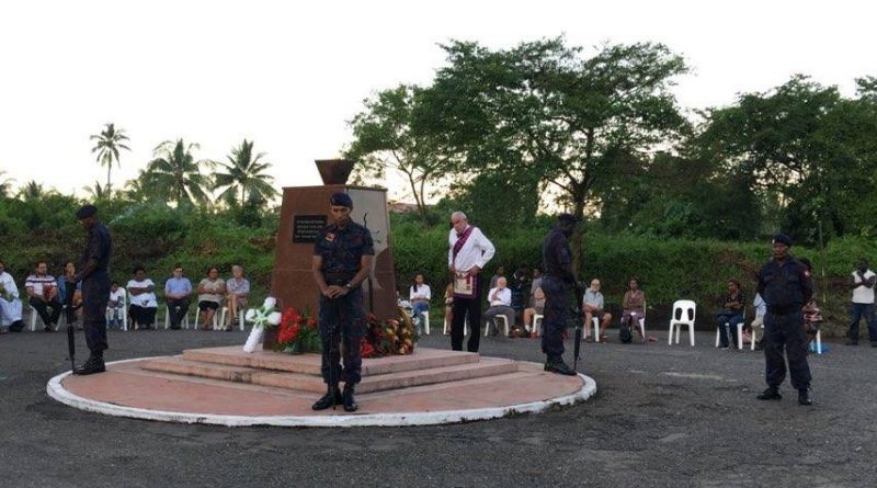 Rabaul Dawn Service Held to Commemorate ANZAC Day
