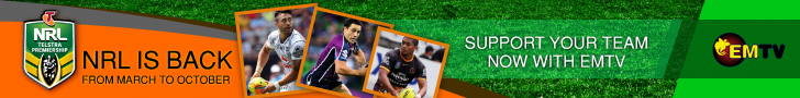 NRL IS BACK ON EMTV