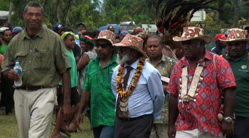 PNG National Party visits Popondetta