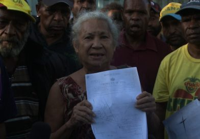 Evicted notice questioned by customary landowners in Port Moresby