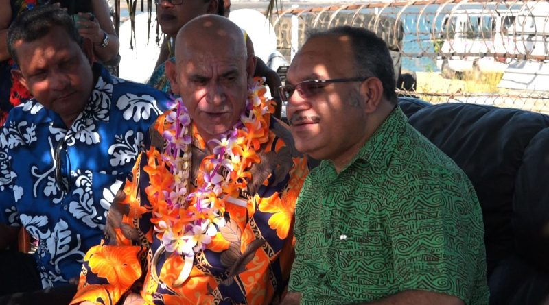 Malabag Campaigns in Tatana with PM O'Neill