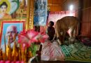 Cambodia widow sees dead husband in five-month-old calf