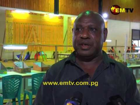 PANGU Party's Ginson Saonu still maintaining lead in the Morobe Regional Seat