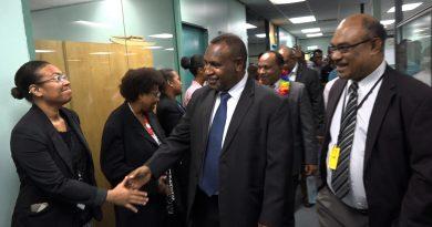 Minister Marape Addresses Rural Development Staff