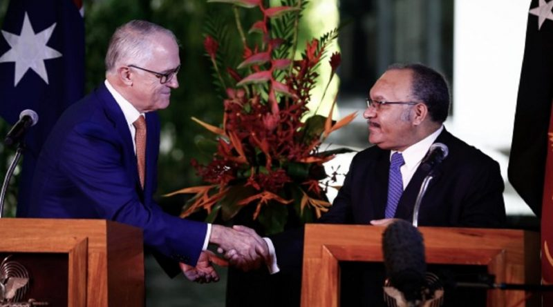Papua New Guinea, Australian Prime Ministers' Departments Sign MOU for Assistance