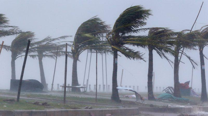 Image result for Wind, rain lash Vietnam as Typhoon Doksuri hits