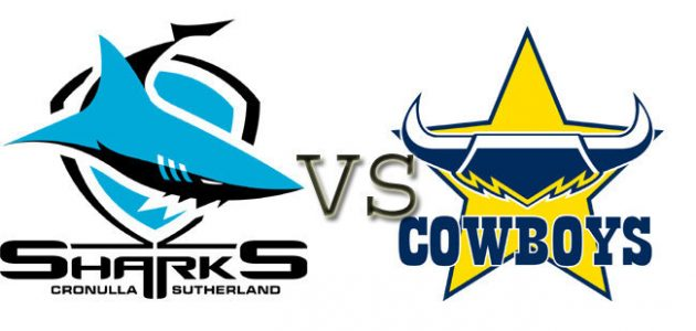 NRL Elimination Match: Cronulla Sharks vs North Queensland Cowboys