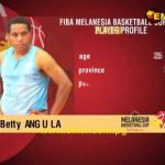 Profiling Betty Angula of PNG Women's Basketball Team