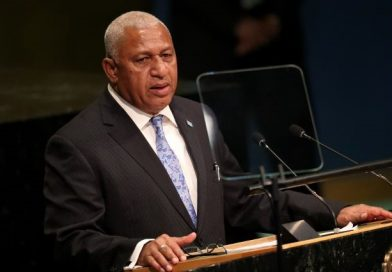 "Fiji urges ""absolute dedication"" to toughest climate target"