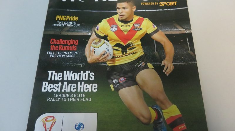 Rugby League World Cup 2017: Edwards Sure PNG Will Make Great Host