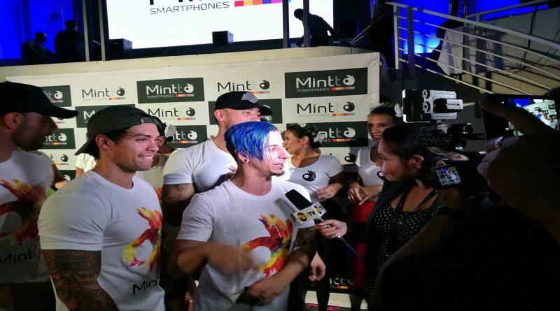 International Pop Dance Crew in PNG to Promote Mintt Smart Phones