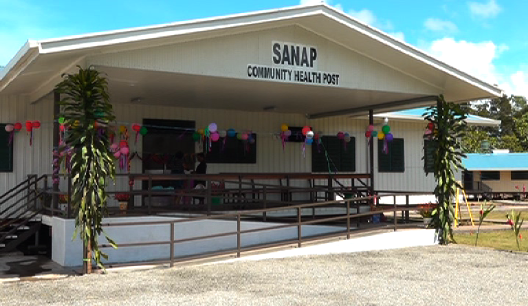 Opening of Sanap Community Health Post