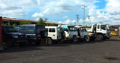 Twelve Tewai-Siassi District Vehicles Retrieved