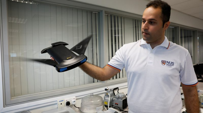 Singapore researchers' underwater robot inspired by manta ray