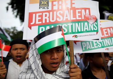 Thousands of Indonesians again protest Trump's Jerusalem move