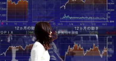 Asian shares slip as iron ore softens, euro near three-year top