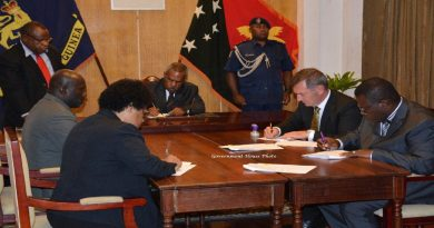 Deed of Settlement Signed Between the State and Puma Energy
