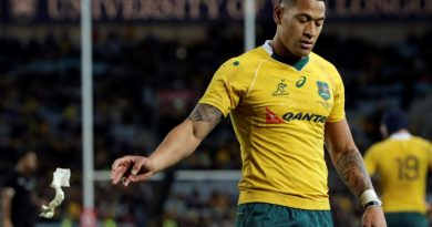 Weber first top-level player to condemn Folau comments