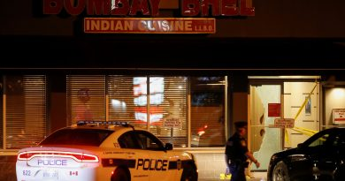 Two men set off bomb in restaurant in Canada; 15 wounded