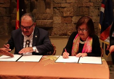 O'Neill signs Air Service Agreement with Republic of Marshall Island