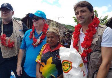 UN Representatives Visit Earthquake-hit Communities