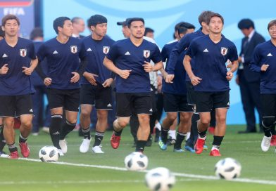 Japan World Cup team send condolences to those affected by Osaka quake