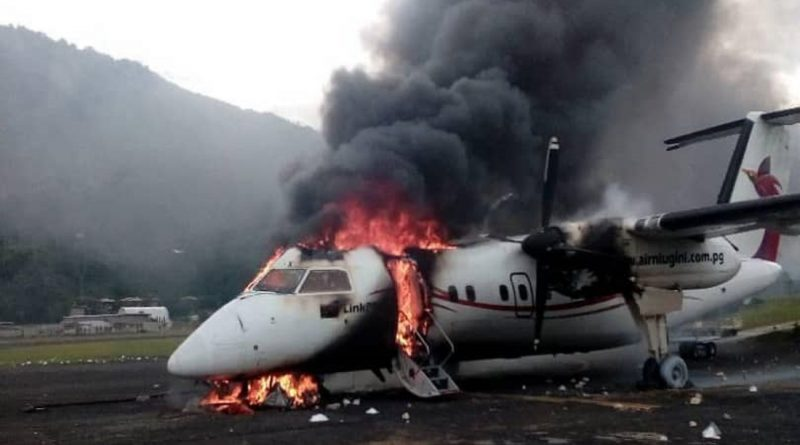 Accident Investigation Commission Announces it will not Investigate the Destruction of Dash-8 Aircraft