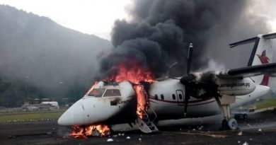 Prime Minister Peter O'Neill Says Actions to Set Alight Aircraft in Mendi Disgraceful