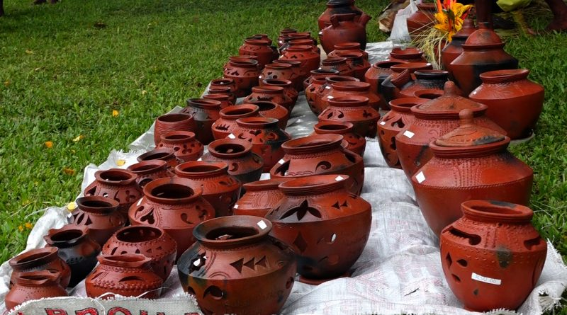 Clay pot, a Significant Practice for Bilbil People of Madang